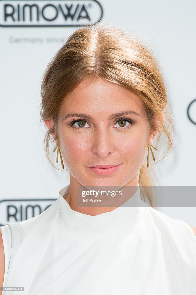 Millie Mackintosh arrives for the RIMOWA store opening on June 29, 2016 in London, England.