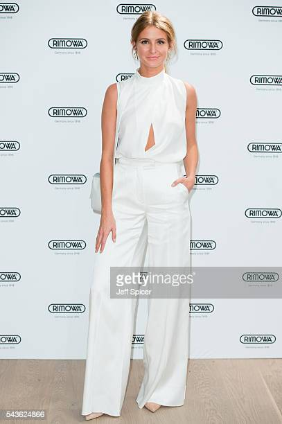 Millie Mackintosh arrives for the RIMOWA store opening on June 29 2016 in London England