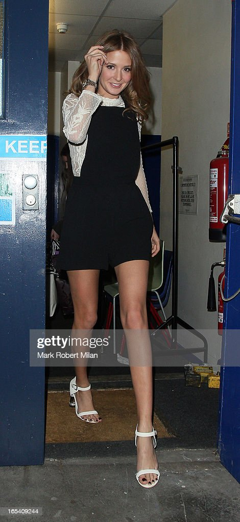 Millie Mackintosh at Riverside studios on April 3, 2013 in London, England.