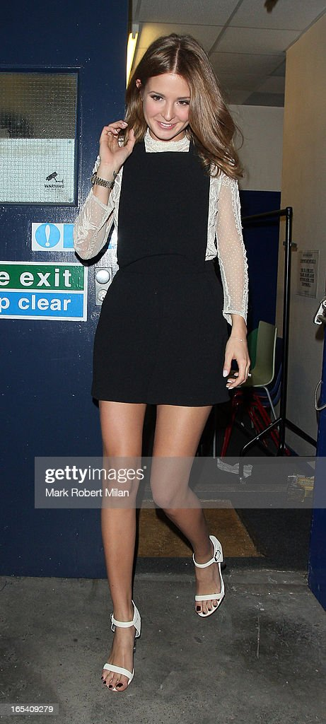 <a gi-track='captionPersonalityLinkClicked' href=/galleries/search?phrase=Millie+Mackintosh&family=editorial&specificpeople=7864153 ng-click='$event.stopPropagation()'>Millie Mackintosh</a> at Riverside studios on April 3, 2013 in London, England.