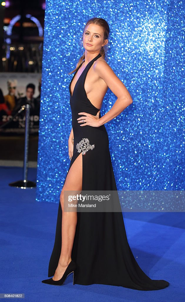 Millie Mackintosh attends a London Fan Screening of the Paramount Pictures film 'Zoolander No 2' at Empire Leicester Square on February 4 2016 in...