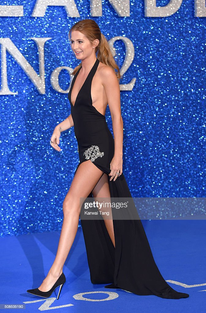 Millie Mackintosh attends a London Fan Screening of the Paramount Pictures film 'Zoolander No. 2' at Empire Leicester Square on February 4, 2016 in London, England.