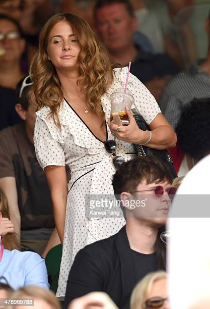 Millie Mackintosh attends day one of the Wimbledon Tennis Championships on June 29 2015 in London England