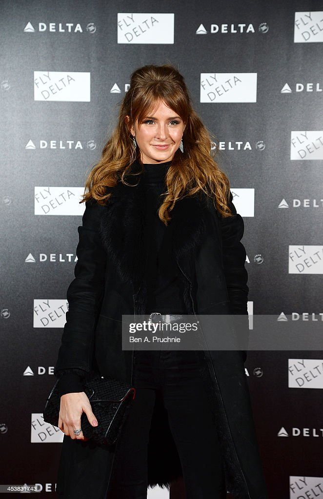 <a gi-track='captionPersonalityLinkClicked' href=/galleries/search?phrase=Millie+Mackintosh&family=editorial&specificpeople=7864153 ng-click='$event.stopPropagation()'>Millie Mackintosh</a> attends Delta Air Lines Presents A Night Under The Bridge at Stamford Bridge on December 5, 2013 in London, England.