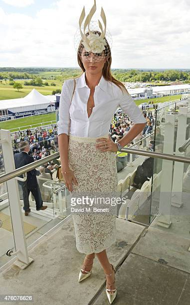 Millie Mackintosh attends Derby Day during the Investec Derby Festival at Epsom Racecourse on June 6 2015 in Epsom England