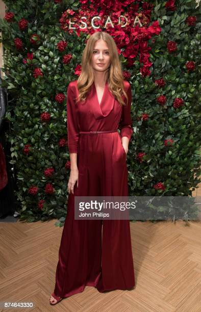 Millie Mackintosh attends New Flagship Store Opening of Luxury Fashion Brand ESCADA on Sloane Street on November 15 2017 in London England
