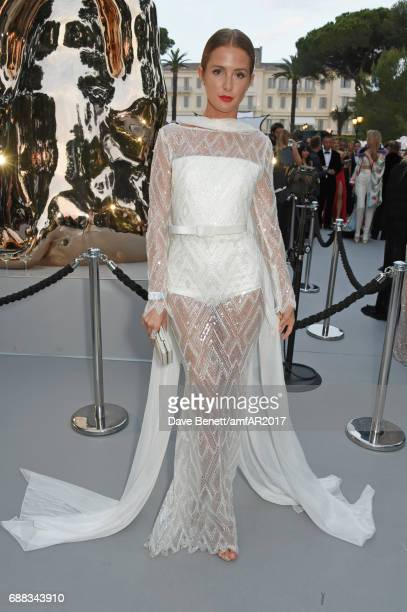Millie Mackintosh attends the amfAR Gala Cannes 2017 at Hotel du CapEdenRoc on May 25 2017 in Cap d'Antibes France