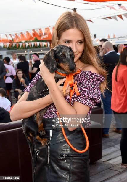 Millie Mackintosh attends the Aperol Spritz Social on July 13 2017 in London England
