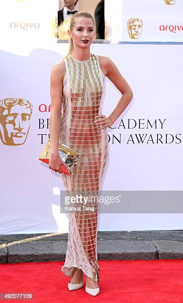 Millie Mackintosh attends the Arqiva British Academy Television Awards held at the Theatre Royal on May 18 2014 in London England