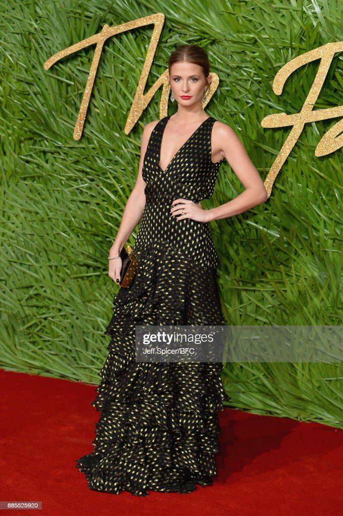 Millie Mackintosh attends The Fashion Awards 2017 in partnership with Swarovski at Royal Albert Hall on December 4, 2017 in London, England.