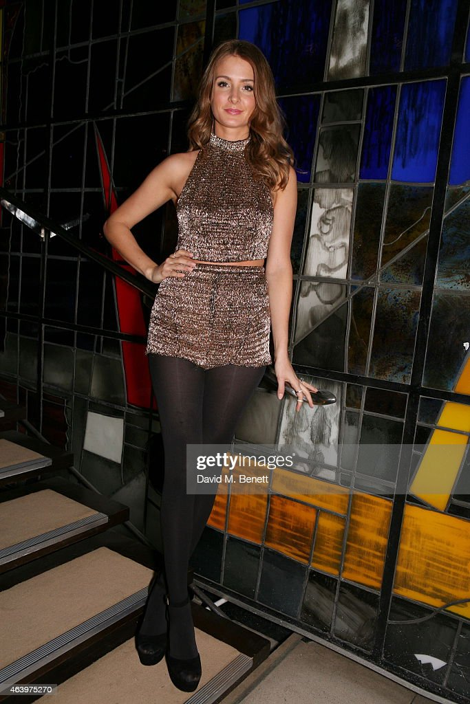 Millie Mackintosh attends the Felder Felder after party during London Fashion Week Fall/Winter 2015/16 at The Sanderson Hotel on February 20, 2015 in London, England.