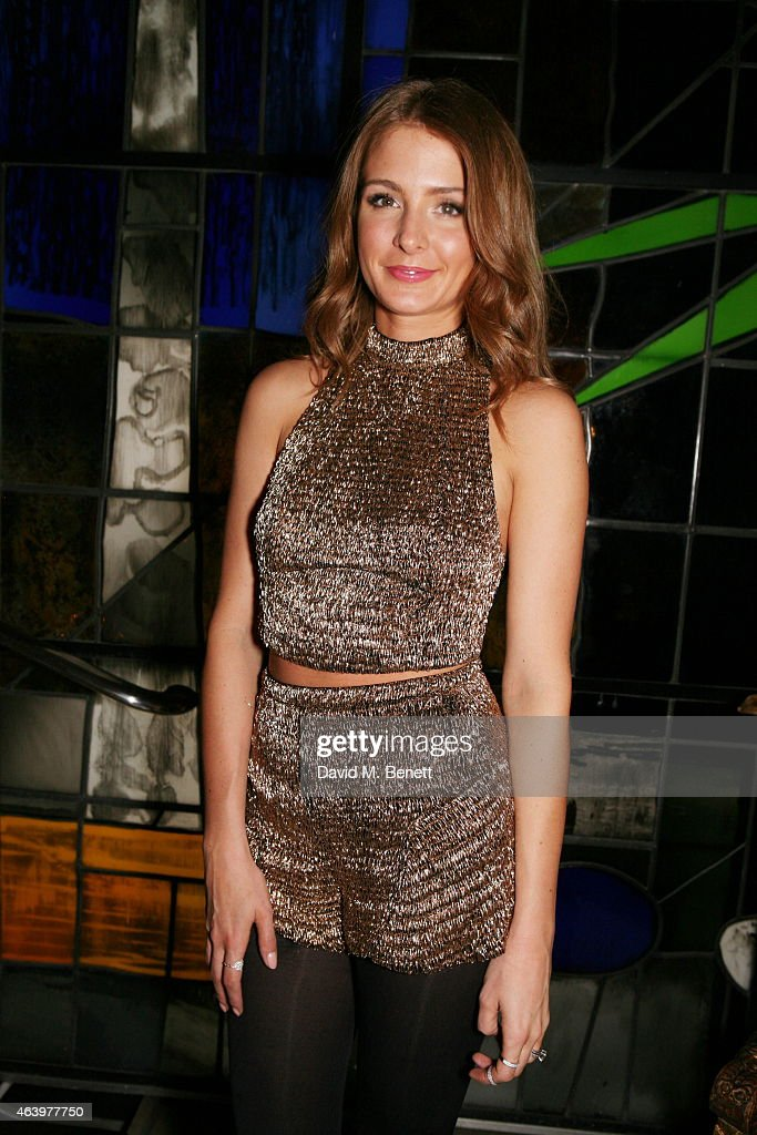 Millie Mackintosh attends the Felder Felder after party during London Fashion Week Fall/Winter 2015/16 at Sanderson Hotel on February 20, 2015 in London, England.