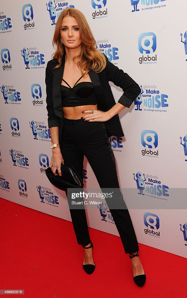 Millie Mackintosh attends the Global Make Some Noise event at Supernova on November 20 2014 in London England