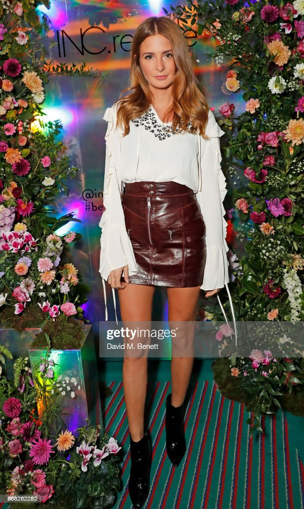 Millie Mackintosh attends the INC.redible beauty brand launch on October 30, 2017 in London, England.