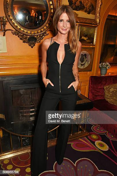 Millie Mackintosh attends the launch of GP Nutrition Supplements a collection of five premium nutritional programmes perfect for modern living at...