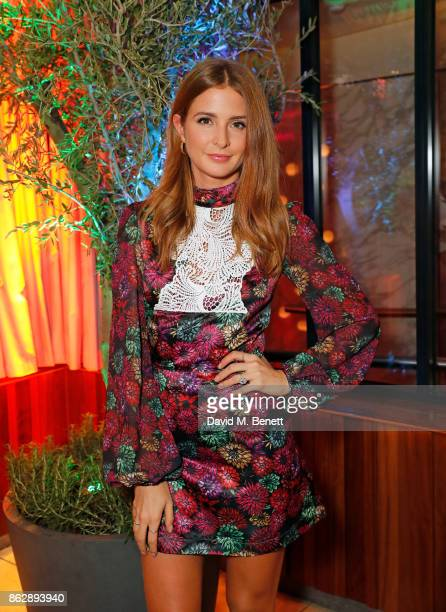 Millie Mackintosh attends the launch of The Trafalgar St James in the hotel's spectacular new bar The Rooftop on October 18 2017 in London England