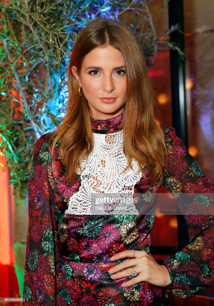 Millie Mackintosh attends the launch of The Trafalgar St. James in the hotel's spectacular new bar The Rooftop on October 18, 2017 in London, England.
