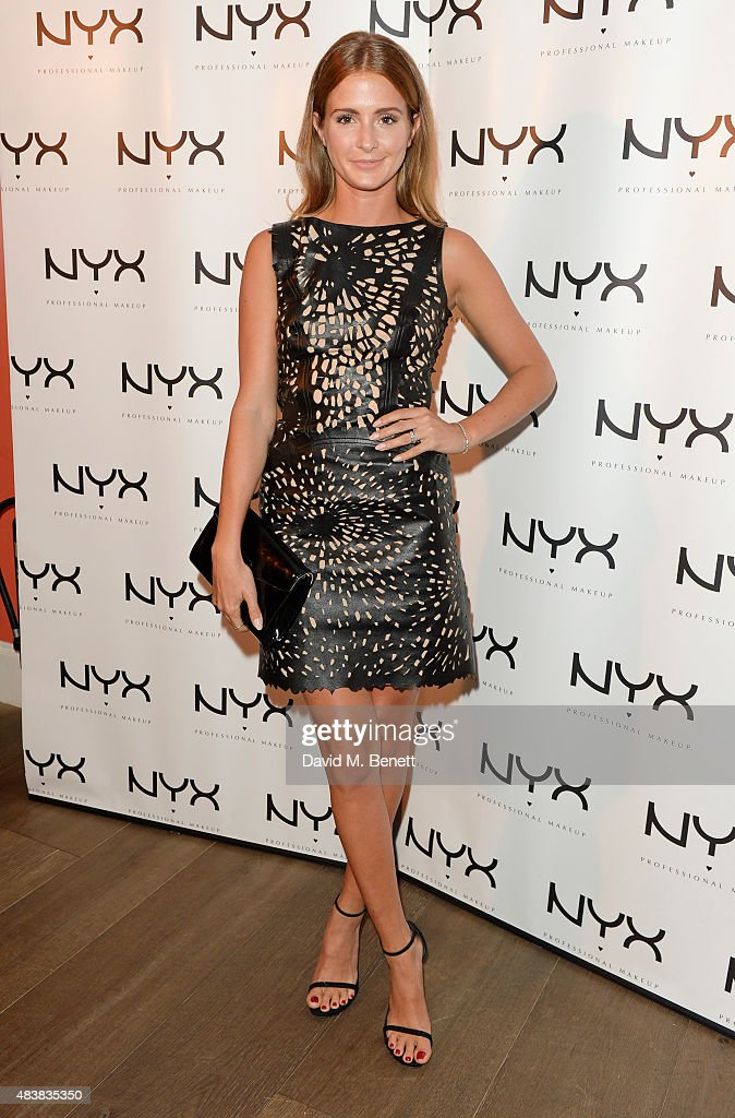 Millie Mackintosh attends the NYX Cosmetics Face Awards UK at the Ham Yard Hotel on August 13 2015 in London England