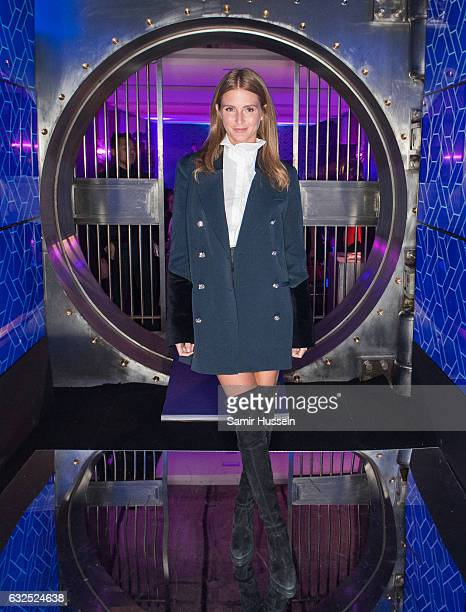 Millie Mackintosh attends the RalphRusso Haute Couture After Party Spring Summer 2017 show as part of Paris Fashion Week on January 23 2017 in Paris...