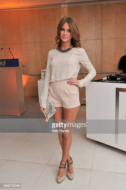 Millie Mackintosh attends the Rodial Beautiful Awards at St Martin's Lane Hotel on March 19 2013 in London England