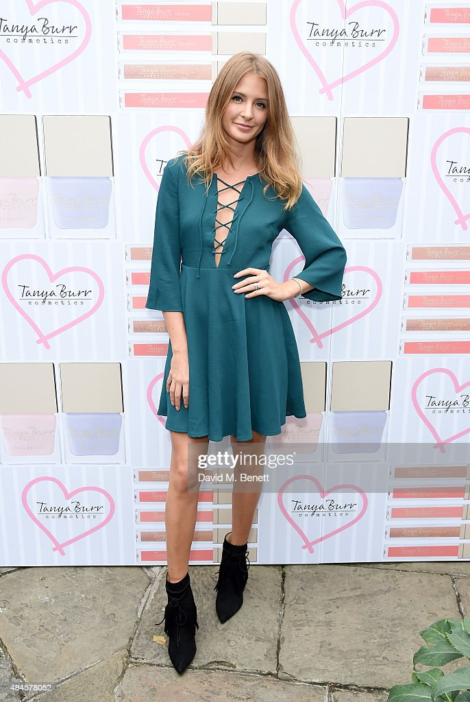 Millie Mackintosh attends the Tanya Burr Cosmetics New Beauty Collection Launch Party at Kensington Roof Gardens on August 20 2015 in London England