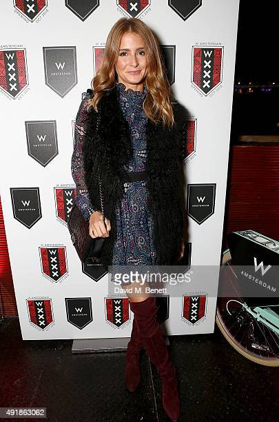 Millie Mackintosh attends the W Amsterdam WXXX boat party on the River Thames on October 8 2015 in London England