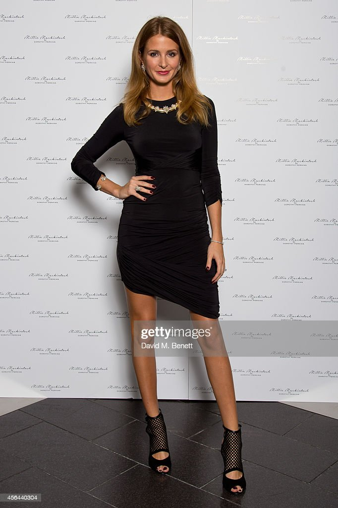 Millie Mackintosh launches her jewellery collection for Dorothy Perkins today on October 1 2014 in London England