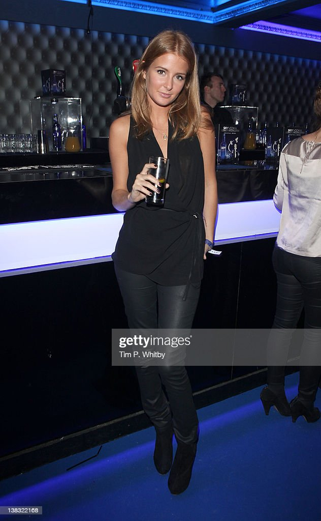 Millie Mackintosh pictured at The Skyy Vodka Global Flair Challenge Finals in London 2012 at Electric Brixton on February 5, 2012 in London, England.