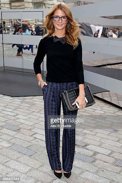 Millie Mackintosh seen at Somerset House attending the J JS Lee show on September 12 2014 in London England Photo by Alex Huckle/GC Images