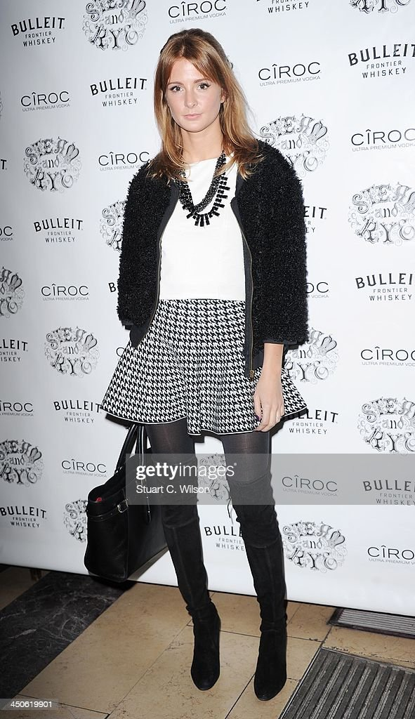 Millie Mackitosh arrives for the 'Steam and Rye' Restaurant launch party on November 19, 2013 in London, England.