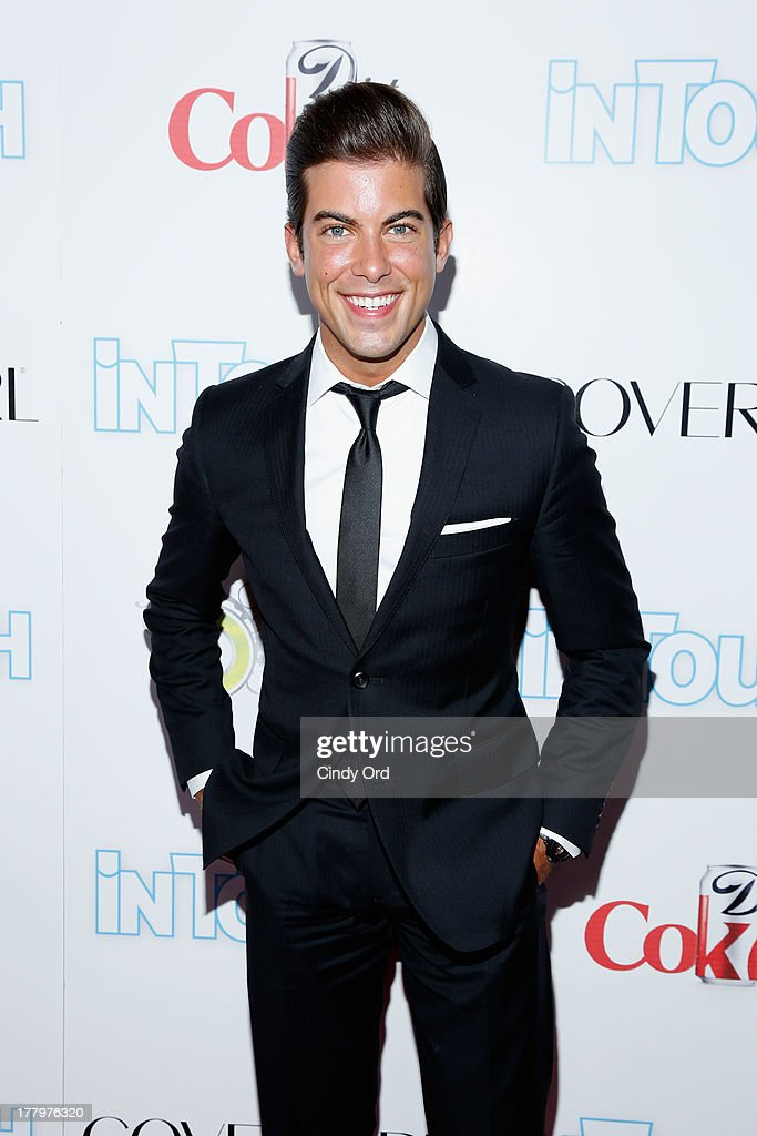 Million Dollar Listing participant arrives at Intouch Weekly's 'ICONS & IDOLS Party' at FINALE Nightclub on August 25, 2013 in New York City.