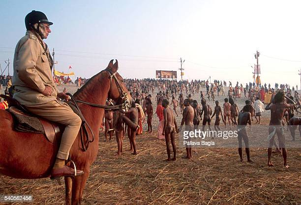 5 million pious Hindus gathered on the banks of the rivers Ganga and Yamuna to partake in the mass bathing at the Kumbh festival in the hope that...