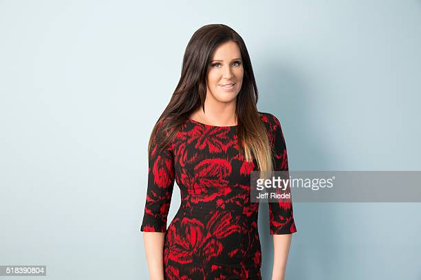 Millionaire matchmaker Patti Stanger is photographed for TV Guide Magazine on January 15 2015 in Pasadena California