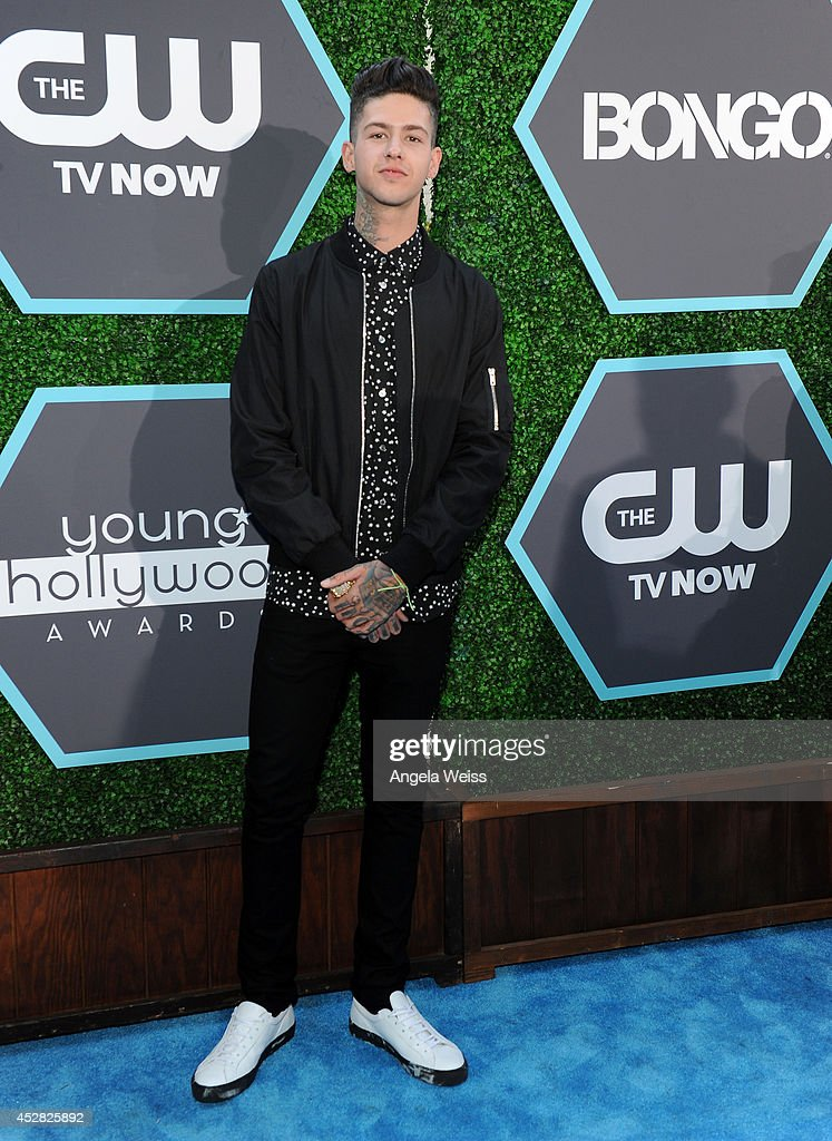 <a gi-track='captionPersonalityLinkClicked' href=/galleries/search?phrase=T.+Mills&family=editorial&specificpeople=8062465 ng-click='$event.stopPropagation()'>T. Mills</a> attends the 2014 Young Hollywood Awards brought to you by Samsung Galaxy at The Wiltern on July 27, 2014 in Los Angeles, California.