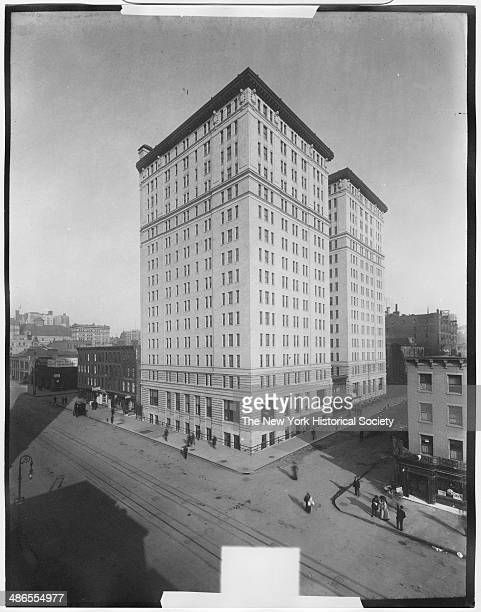 Mills Hotel extension Seventh Avenue and 36th Street New York New York 1895