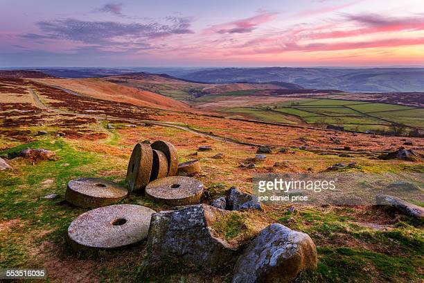 Millstones, Stanage Edge, Hathersage Peak District