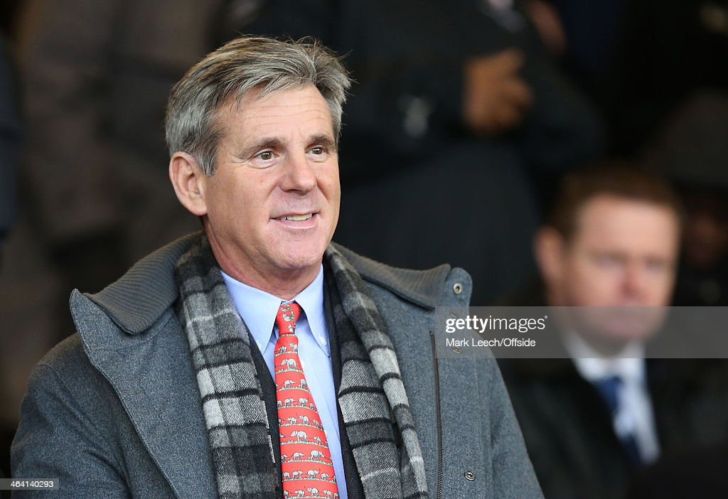 Millwall FC chairman John G Berylson during the FA Cup Third Round match between Southend and Millwall at Roots Hall on January 4, 2014 in Southend, England.