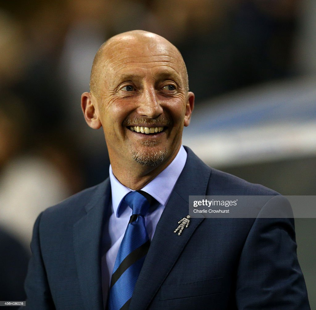 Millwall manager Ian Holloway during the Sky Bet Championship match between Millwall and Birmingham at The Den on September 30 2014 in London England
