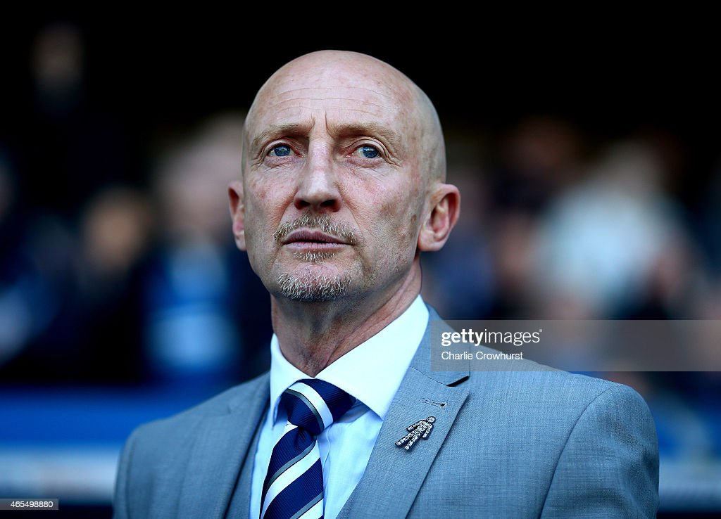 Millwall manager Ian Holloway during the Sky Bet Championship match between Millwall and Norwich City at The Den on March 07, 2015 in London, England.