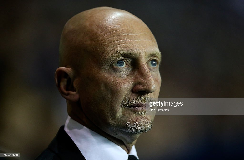 Millwall manager Ian Holloway looks on ahead of the Sky Bet Championship match between Reading and Millwall at Madejski Stadium on September 16 2014...