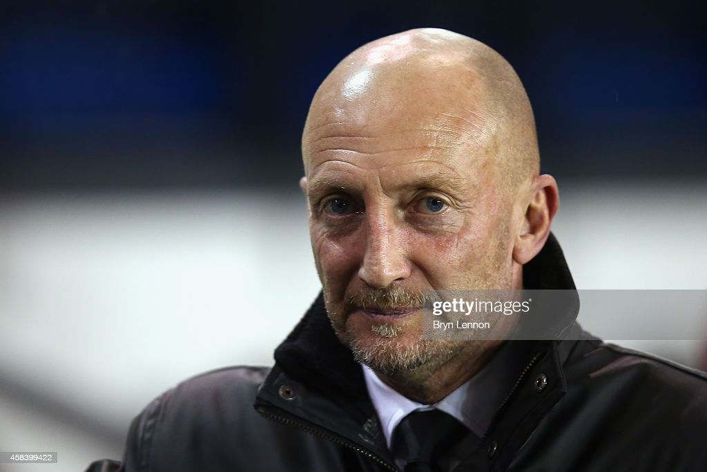 Millwall manager Ian Holloway looks on at the start of the Sky Bet Championship match between Millwall and Blackburn Rovers at The Den on November 4...