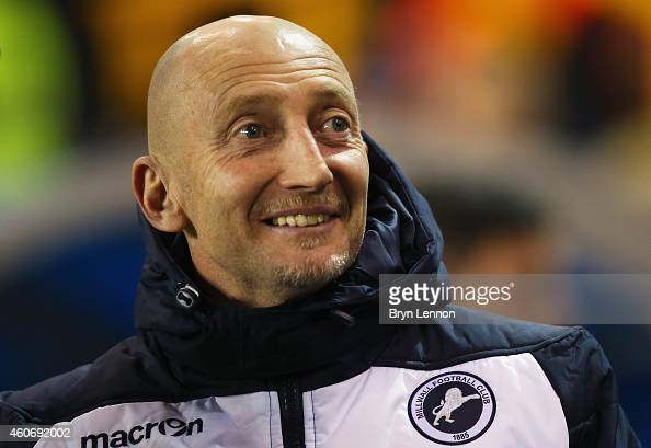 Millwall Manager Ian Holloway looks on prior to the Sky Bet Championship match between Millwall and Bolton Wanderers at The Den on December 19 2014...