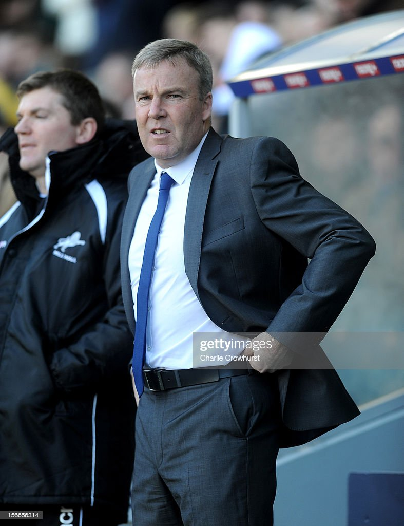 Millwall manager Kenny Jackett during the npower Championship match between Millwall and Leeds United at The New Den on November 18, 2012 in London, England.