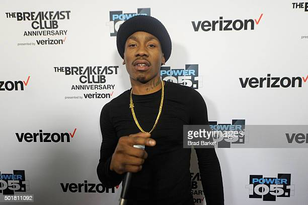 Milly attends the Power1051 Breakfast Club Anniversary party presented by Verizon on December 17 2015 in New York City