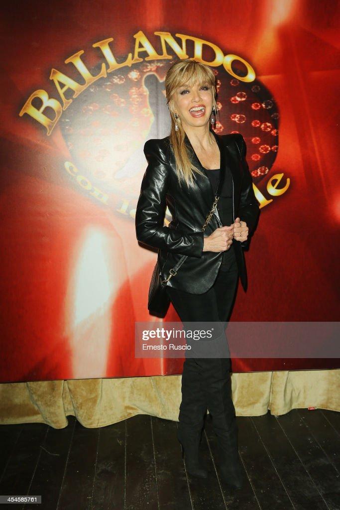 Milly Carlucci attends the 'Ballando con le stelle' 100th Episode Party at La Villa on December 9, 2013 in Rome, Italy.