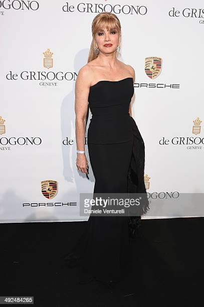 Milly Carlucci attends the De Grisogono Party at the 67th Annual Cannes Film Festival on May 20 2014 in Cap d'Antibes France