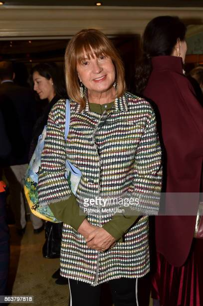 Milly de Cabrol attend the launch of Second Bloom Cathy Graham's Art of the Table hosted by Joanna Coles and Clinton Smith at Bergdorf Goodman on...