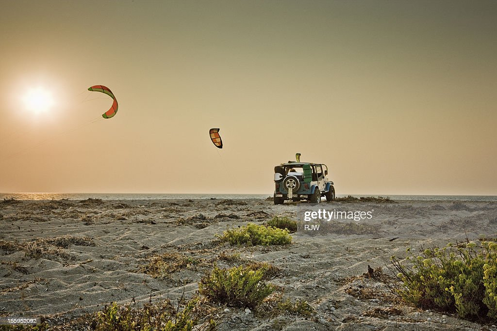 Milo Beach and Off Road Vehicle : Stock Photo