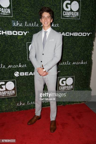 Milo Jacob Manheim attends the 2017 GO Campaign Gala at NeueHouse Los Angeles on November 18 2017 in Hollywood California