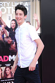 Milo Jacob Manheim attends the premiere of STX Entertainment's' 'Bad Moms' at Mann Village Theatre on July 26 2016 in Westwood California